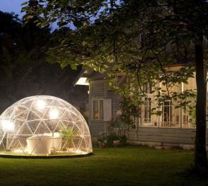 Сад-купол: 360° для отдыха всей семьи