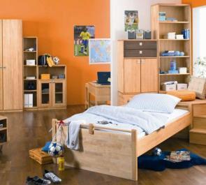 Основные достоинства детской мебели из массива сосны.